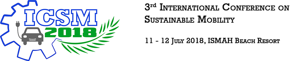 3rd International Conference of Sustainable Mobility